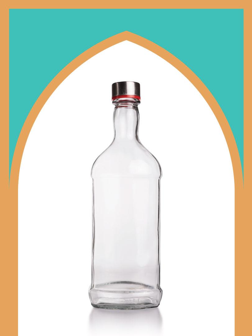 12 عدد بطری شیشه فلورانس