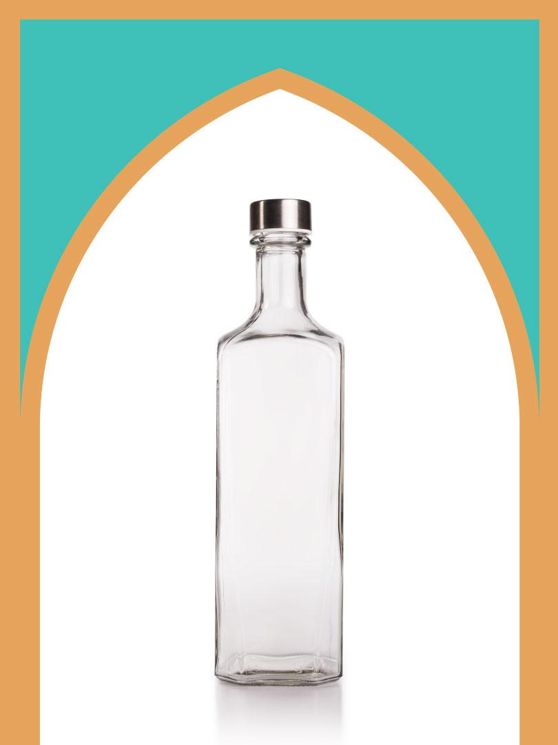 12 عدد بطری شیشه برمودا