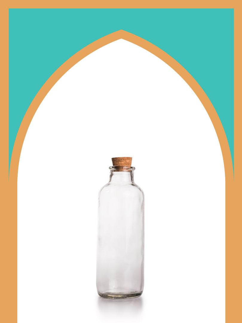20 عدد بطری شیشه دریا