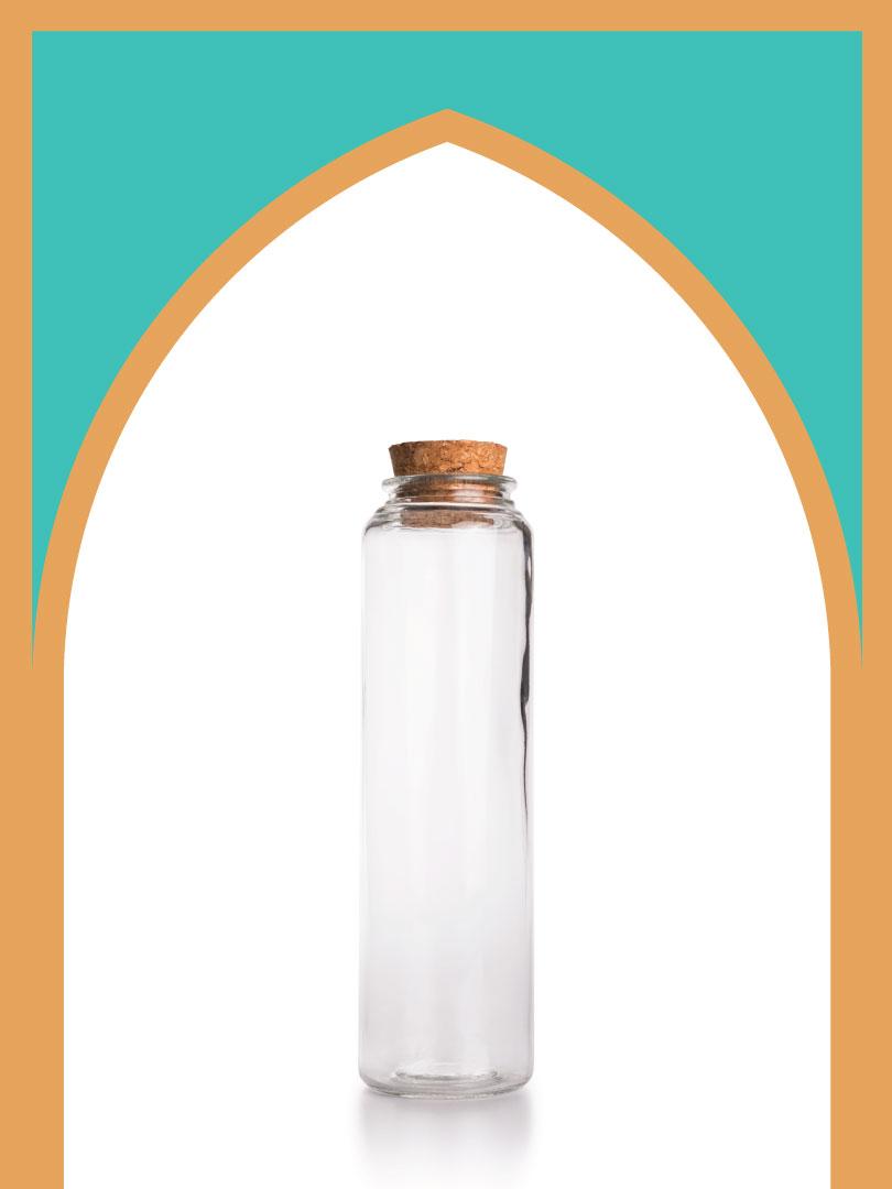 15 عدد بطری شیشه آلپ 25
