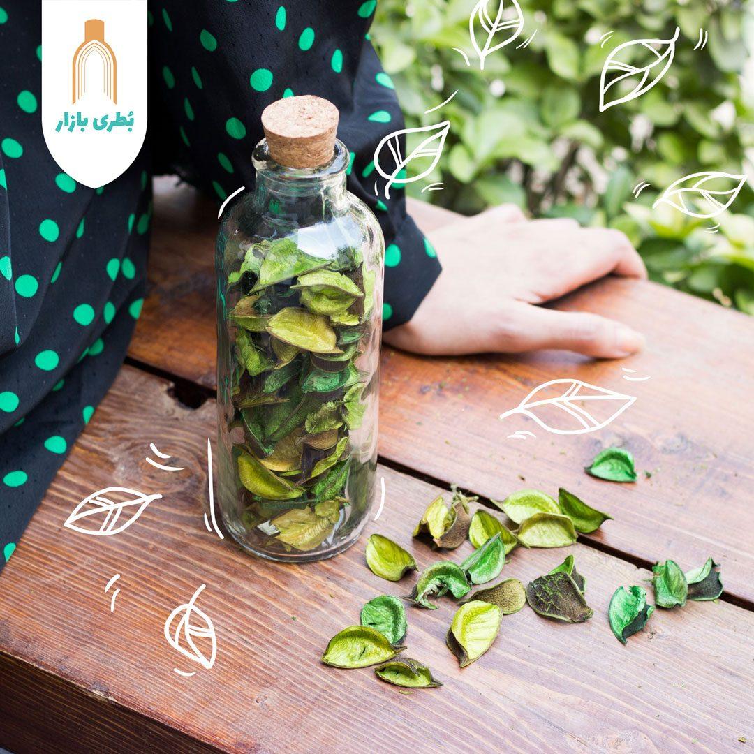 خرید بطری شیشهای دریا با درب چوب پنبهای   400 سیسی