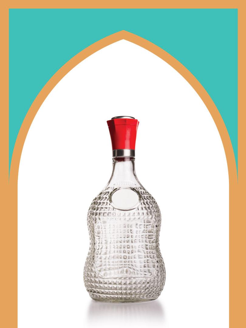 12 عدد بطری شیشه کارِن