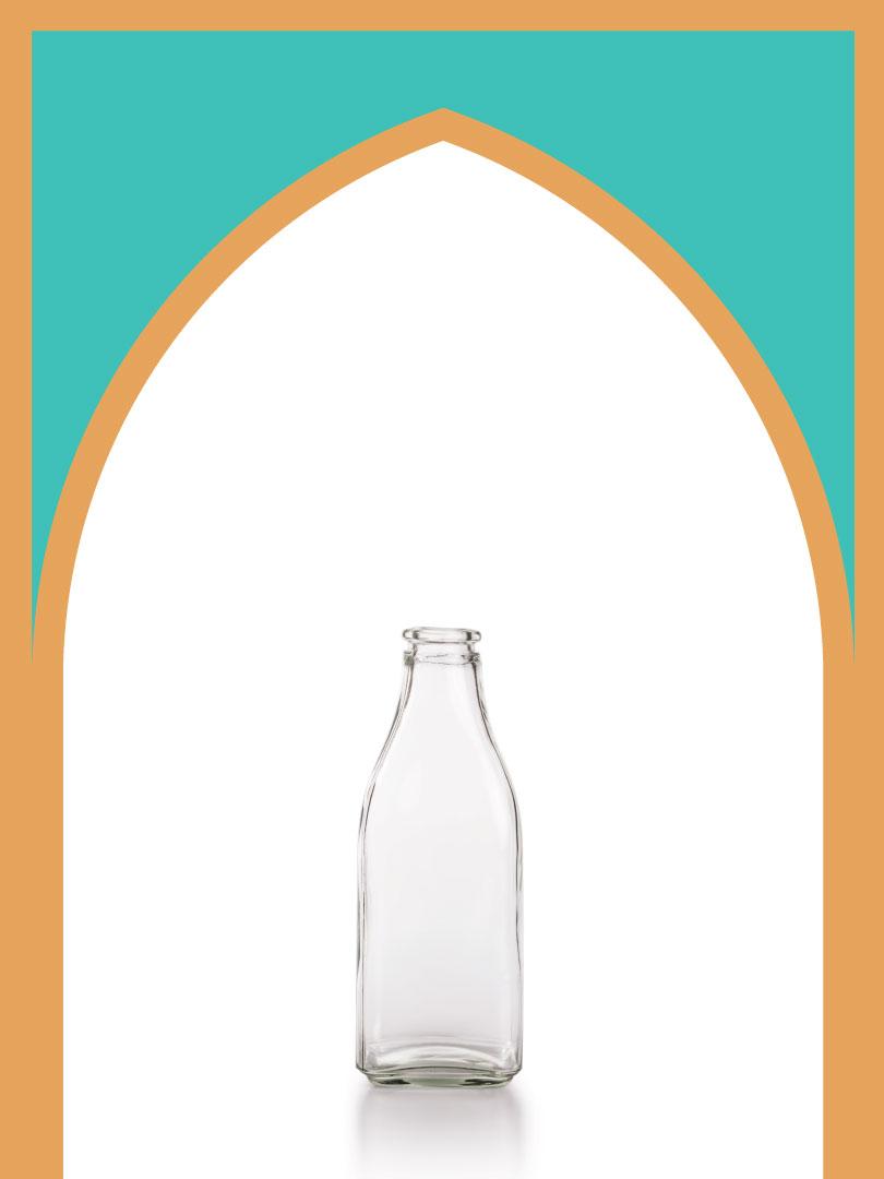 20 عدد بطری شیشه آمازون جزیره