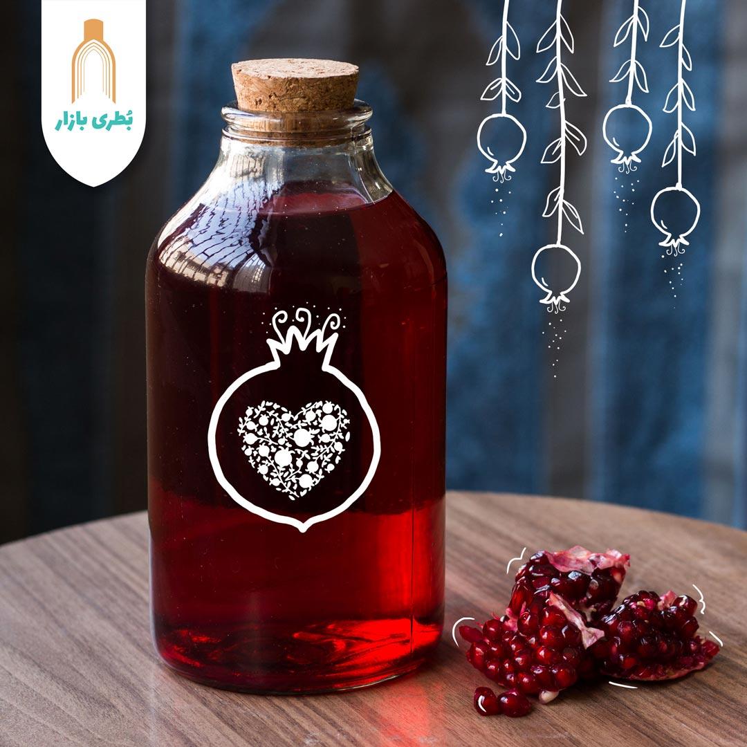 خرید بطری شیشهای آمازون متوسط با درب چوب پنبهای | 1000 سیسی