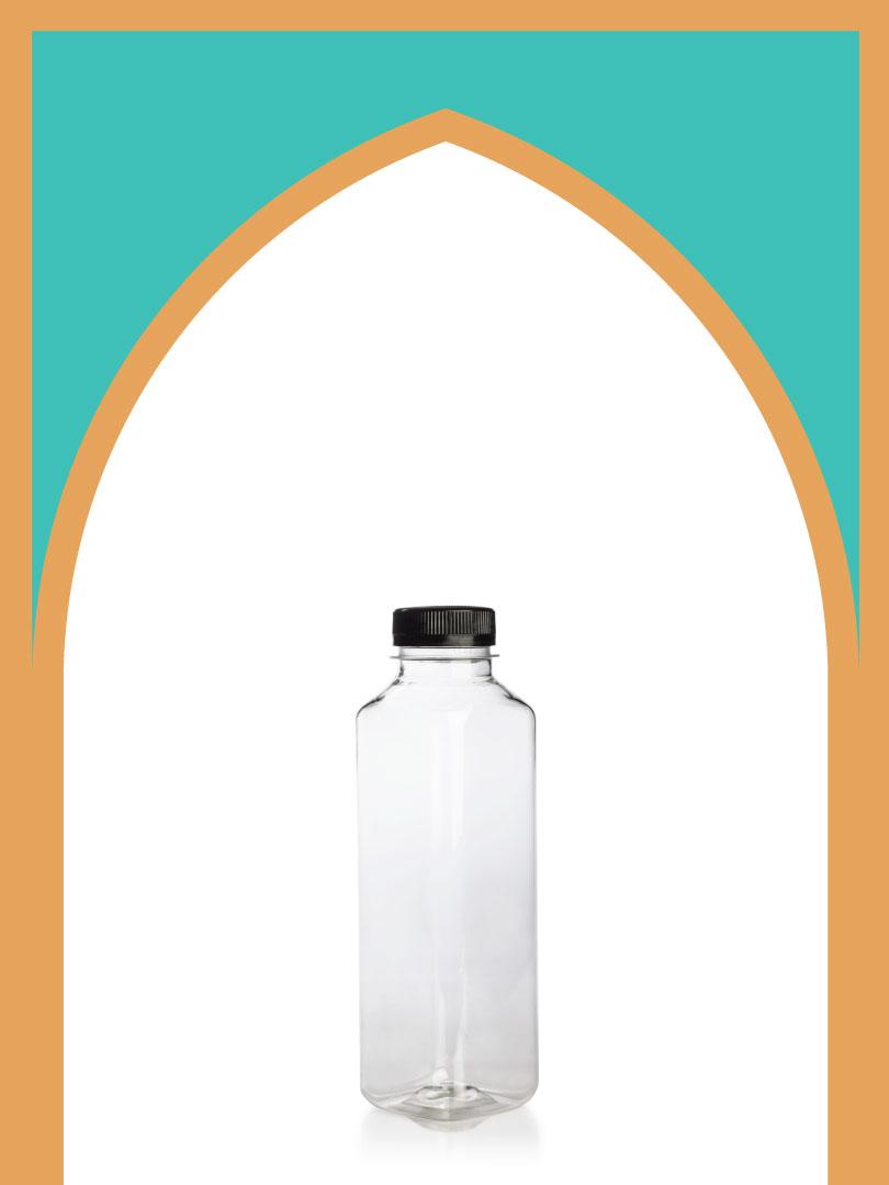 فروش بطری پلاستیکی پت کانسپت سایز 3 با درب پلاستیکی | 500 سیسی
