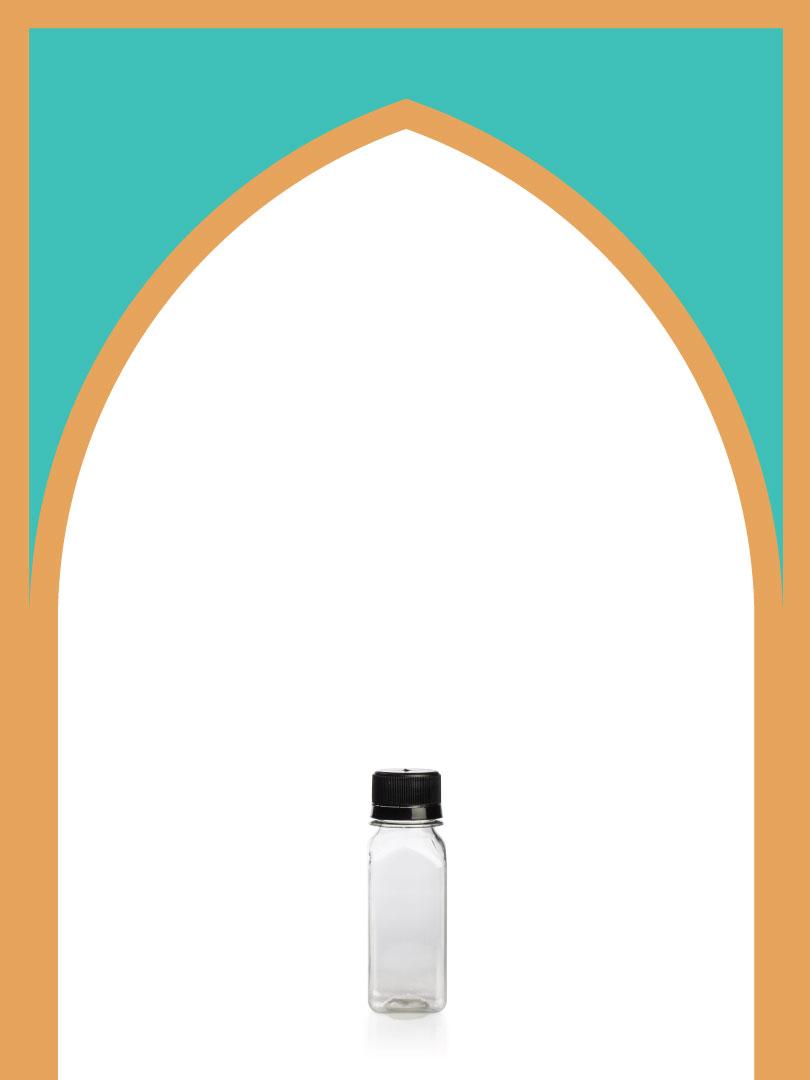 فروش بطری پلاستیکی پت آبمیوه فسقلی با درب پلاستیکی | 75 سیسی