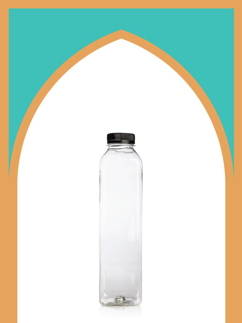 فروش بطری پلاستیکی پت آبمیوه بلند با درب پلاستیکی | 750 سیسی