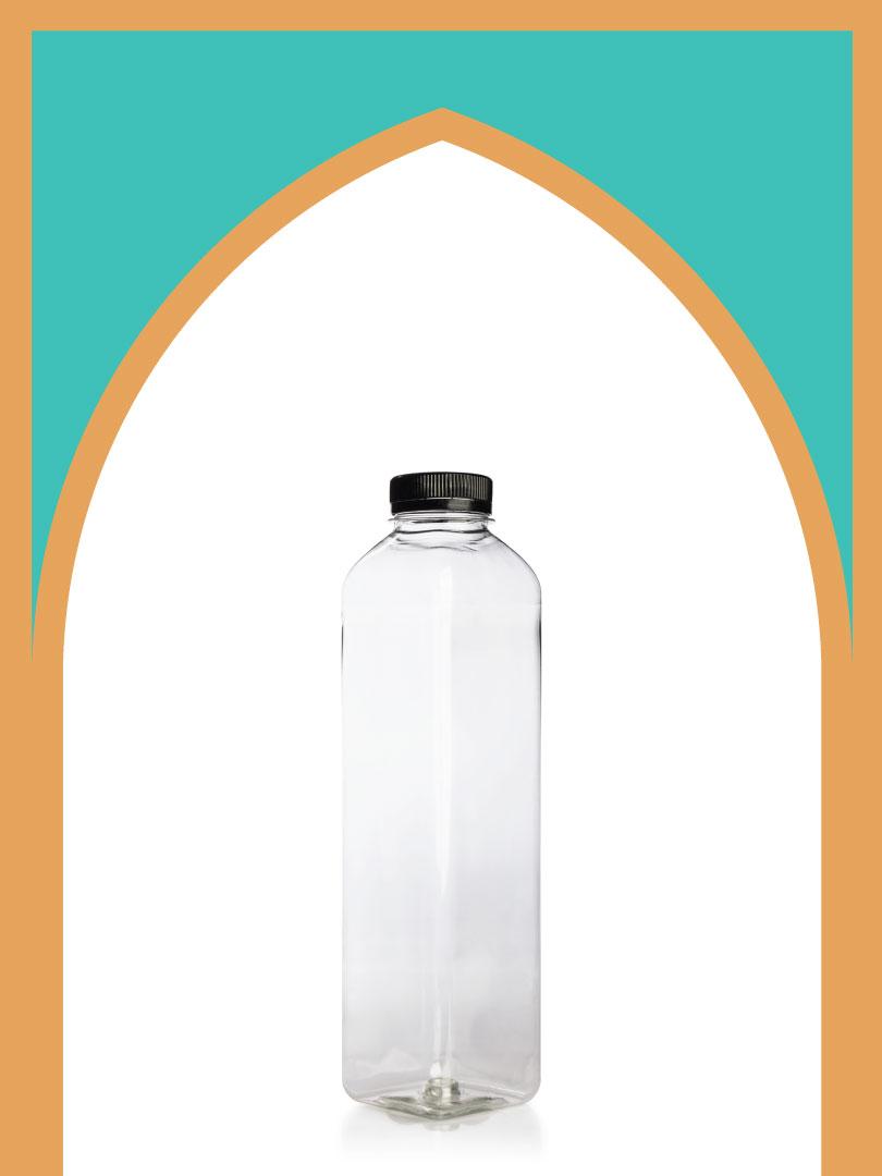 150 عدد بطری پلاستیک پت جوس 750