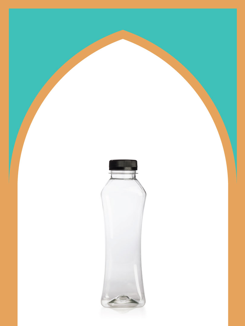 فروش بطری پلاستیکی پت مانکن با درب پلاستیکی | 500 سیسی