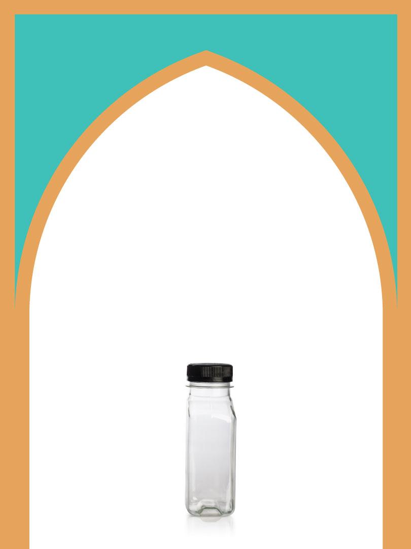 فروش بطری پلاستیکی پت کتابی کلدبرو با درب پلاستیکی | 250 سیسی