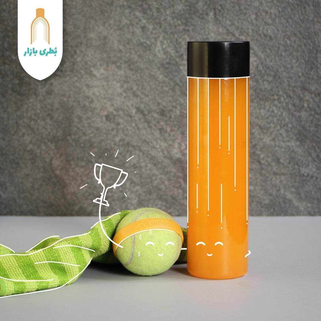 خرید بطری پلاستیکی پت مکسیمال با درب پلاستیکی | 500 سیسی