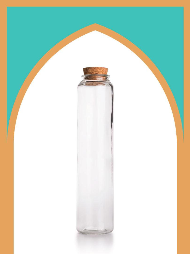 فروش بطری شیشهای آلپ خیلی بلند با درب چوب پنبهای | 750 سیسی