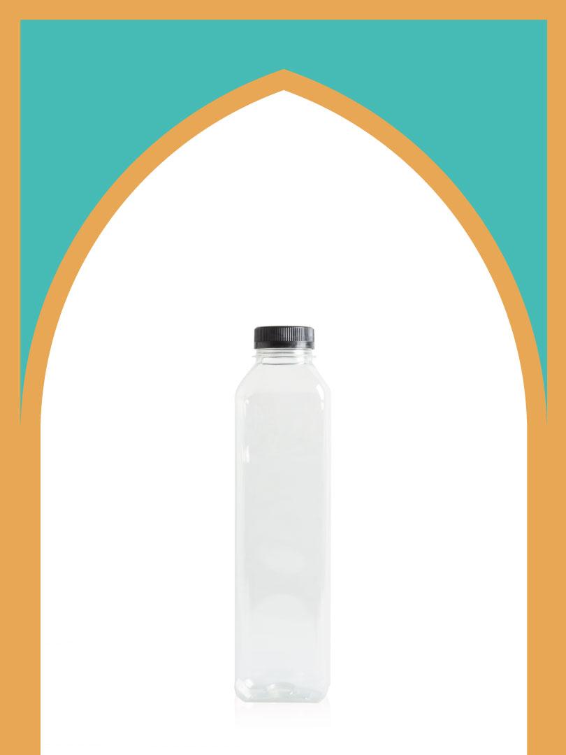 فروش بطری پلاستیکی پت آبمیوه خیلی بلند با درب پلاستیکی | یک لیتری