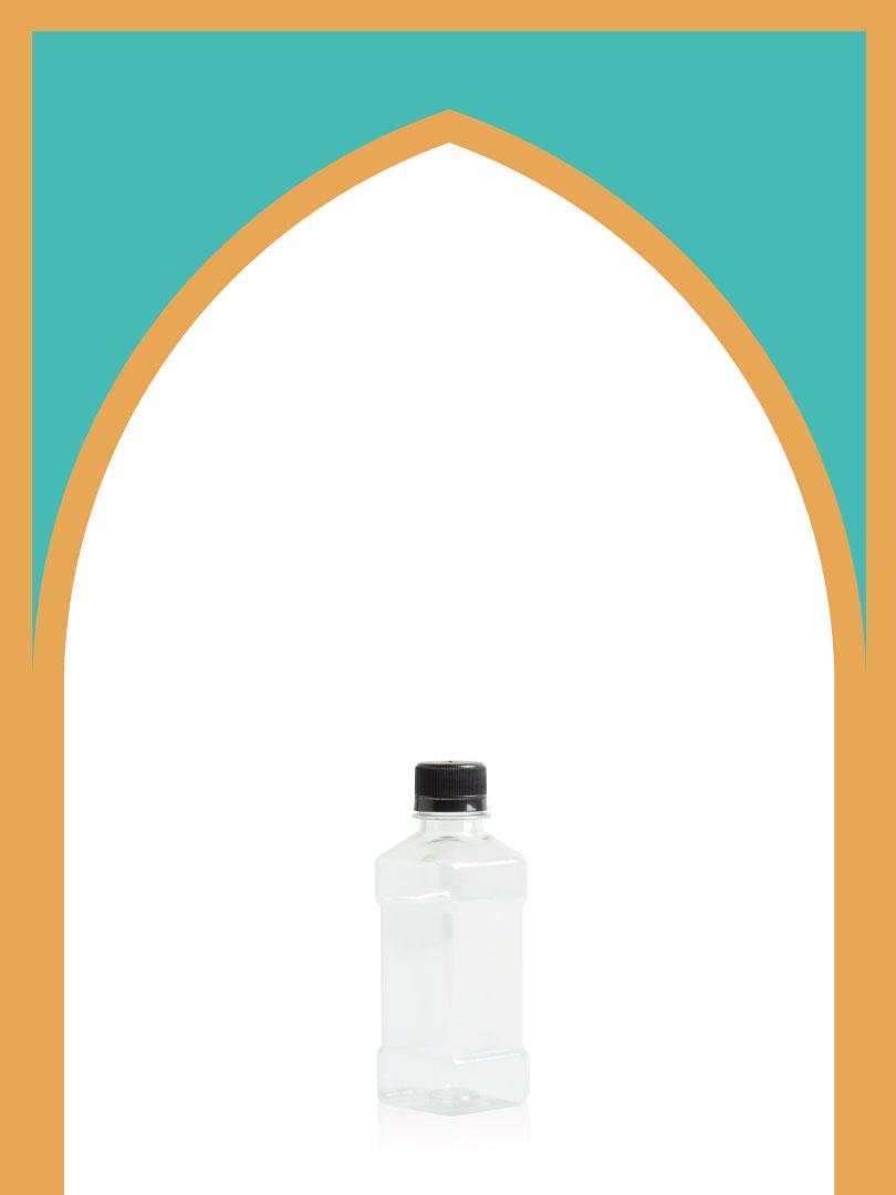 فروش بطری پلاستیکی پت آیس با درب پلاستیکی | 220 سیسی