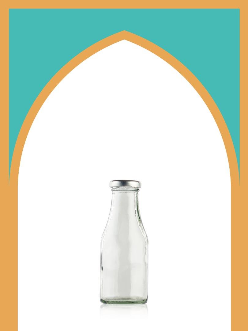 فروش بطری شیشهای دایانا کوچک با درب فلزی | 250 سیسی