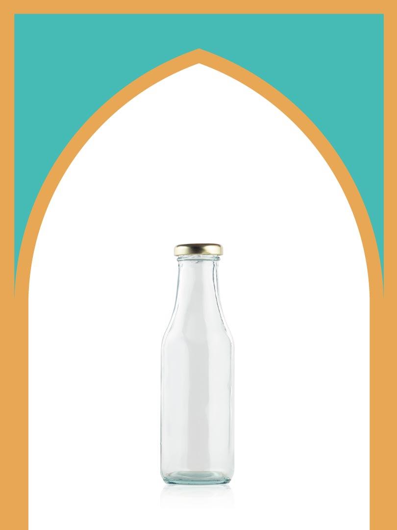 فروش بطری شیشهای دایانا با درب فلزی | 350 سیسی