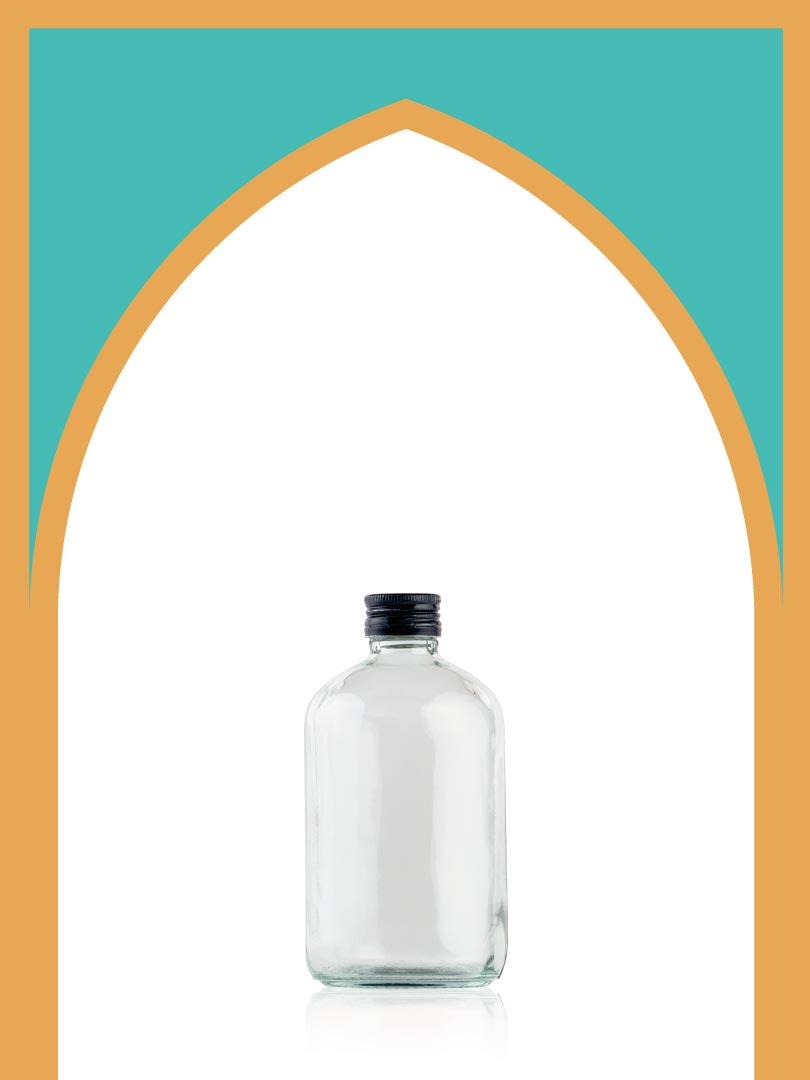 فروش بطری شیشهای روکوکو با درب فلزی | 500 سیسی
