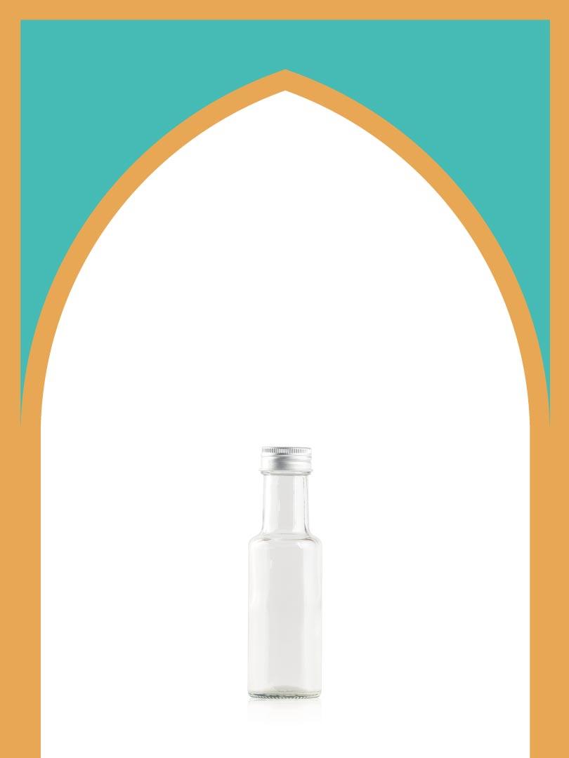 فروش بطری شیشهای الحمرا با درب فلزی