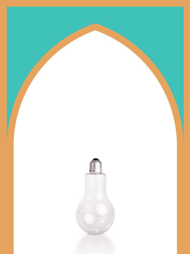 فروش بطری پلاستیکی پت لامپی با درب پلاستیکی | 350 سیسی