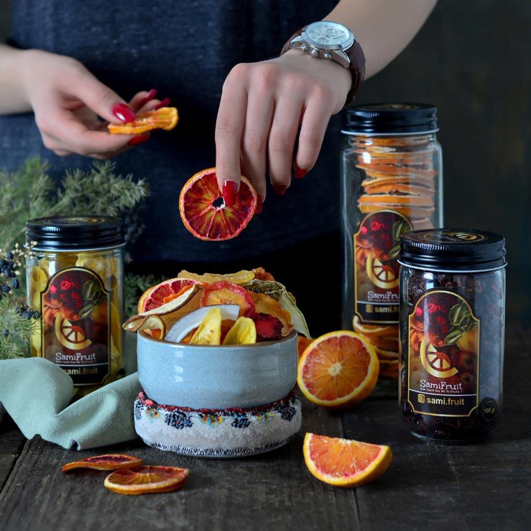 جار و ظروف بستهبندی میوه خشک سامی فروت
