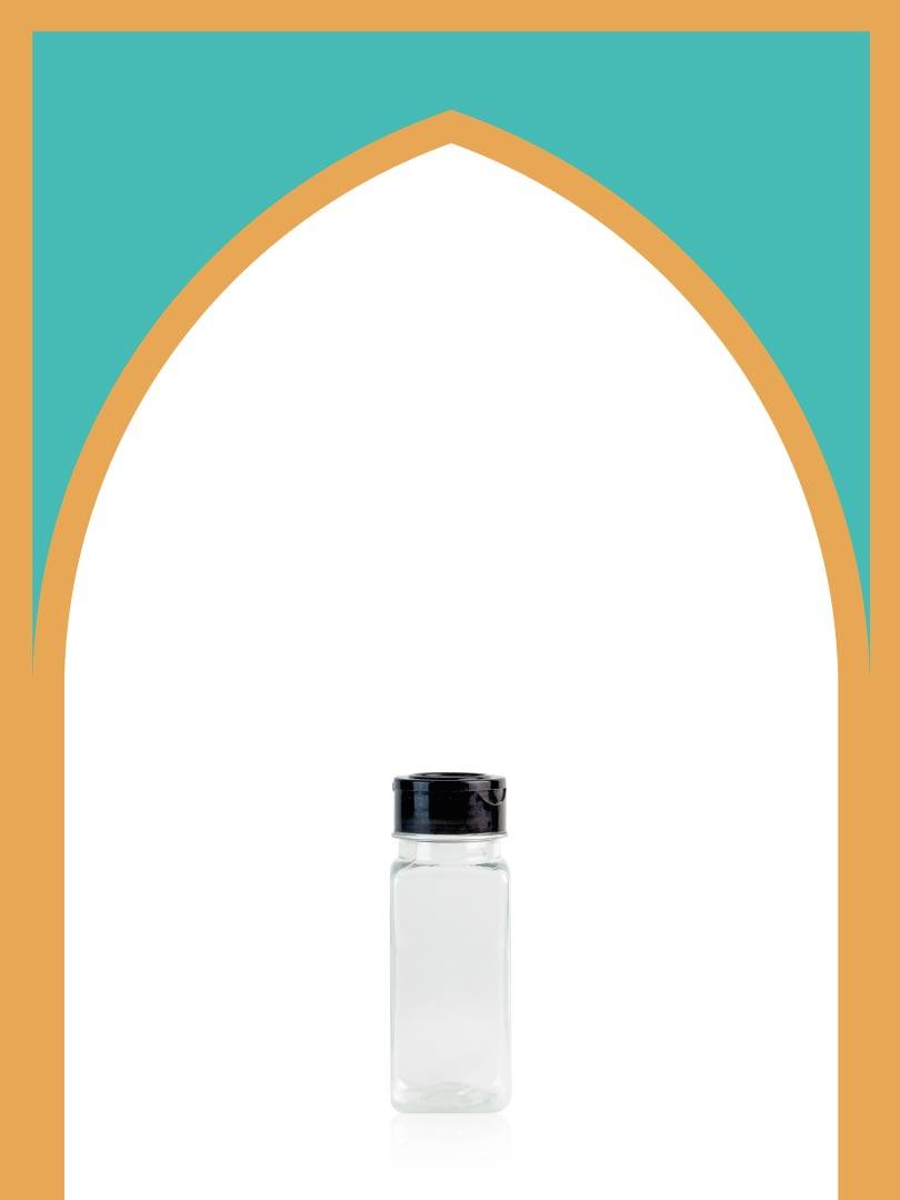 خرید بطری پلاستیکی پت ادویه با درب پلاستیکی | 165 سیسی